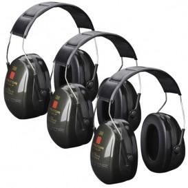3M Peltor Optime II - pack trío