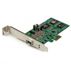 Tarjeta PCI Express Adaptadora de Red Gigabit con 1 Puerto SFP Abierto - NIC Ethernet PCI-E de Fibra