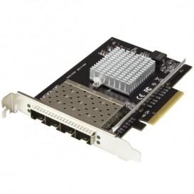 Tarjeta de Red PCI Express para Servidores con 4 Puertos SFP+ - Tarjeta de Red de 10 Gibabits con Chip Intel XL710