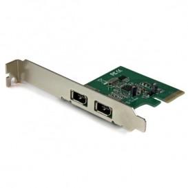 Scheda FireWire a 2 porte PCI Express 1394a - Adattatore FireWire PCIe
