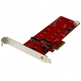 Tarjeta Controladora M.2 PCI Express para 2 SSD