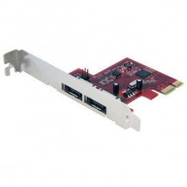 Scheda eSATA Controller PCI Express a 2 porte 6 Gbps, SATA