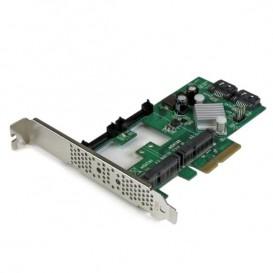 Tarjeta Controladora SATA III RAID PCI Express 2.0 con 2 Ranuras mSATA Emparejamiento HyperDuo para SSD