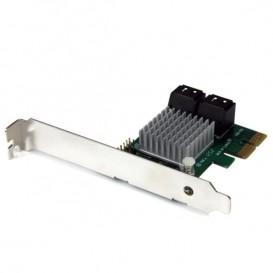Tarjeta Adaptadora Controladora PCI Express PCI-E SATA 3 III 6Gbps RAID 4 Puertos con HyperDuo