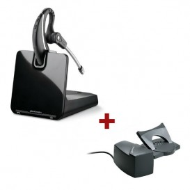 Plantronics CS530 + Descolgador a distancia Plantronics HL10