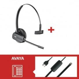 Pack Plantronics CS540 para teléfonos Avaya EU24