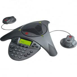Polycom VTX1000 con micrófonos y subwoofer