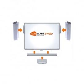 Pack Pizarra Digital Interactiva MCI780 + barras de sonido