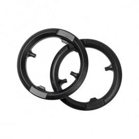 Pack de 10 Anillos de retención talla L para serie Sennheiser SC600 de cuero sintético