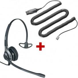 OD HC 40 + Cable QD HIS para Avaya 94XX