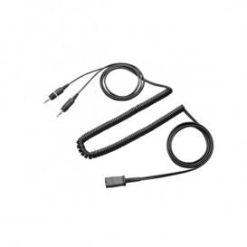 Cable OD QD con Jack 3.5mm Dual para PCs