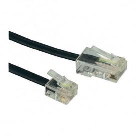 Cable de red RJ11 / RJ45 - 5 metros