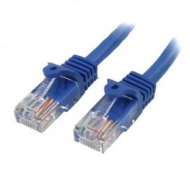 Cavo di rete ethernet antigroviglio RJ45 UTP Categoria 5e Cat 5e - Cavo patch da 30cm - Blu