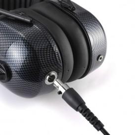 Cable QD (sin pulsador PTT) para Hytera