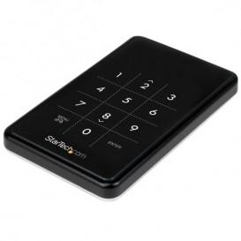 """Box Esterno HDD per disco rigido SATA III 2.5"""" USB 3.0 Criptato AES 256-bit"""