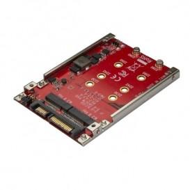 """Adattatore per 2 Dischi SSD M.2 a SATA per alloggio da 2,5"""" - RAID"""