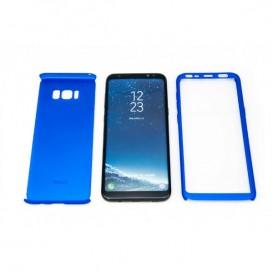 STIKGO Funda 360º para Samsung S8 Plus - Azul