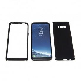 STIKGO Funda 360º para Samsung S8 - Negro