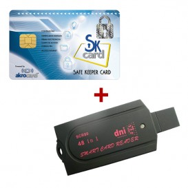 Safe Keeper Card con Lector Smart Card