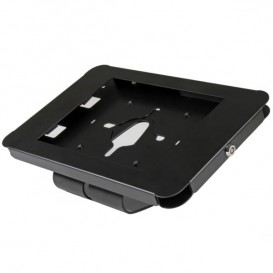 Base de Tablet con Seguro para iPad - de Escritorio o de Montaje en Pared - de Acero