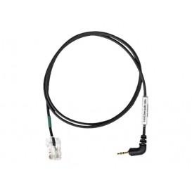 Cable Sennheiser RJ45/Jack 2,5 -