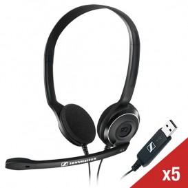 Pack X5 Sennheiser PC 8 USB