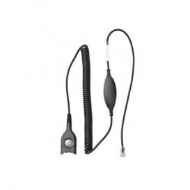 Cable Sennheiser QD / RJ9 para Avaya 1616