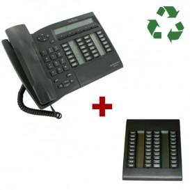 Alcatel Advanced Reflexes re acondicionado + Módulo de extensión 40 teclas