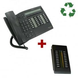 Alcatel Advanced Reflexes re acondicionado + Módulo de extensión 20 teclas