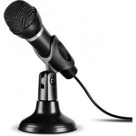 microfono de mano con sujeción