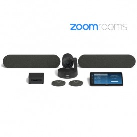 Logitech Large Room Solutions para Zoom Rooms