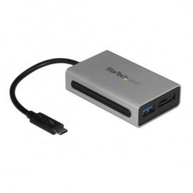 Adaptador Conversor Thunderbolt 3 a eSATA con Puerto USB 3.1 - Adaptador USC Tipo C a USB A- USBC