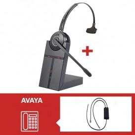 Pack de auriculares Cleyver HW20 para Avaya
