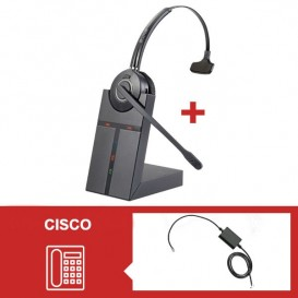 Pack de auriculares Cleyver HW20 para Cisco Serie 79
