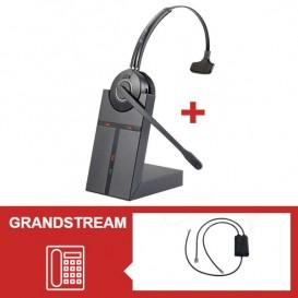 Pack de auriculares Cleyver HW20 para Grandstream