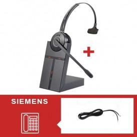 Pack auricular Cleyver HW20 para Siemens - Segunda versión