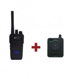 Escolta Alfa PMR 446 + Escolta Charlie AG-446