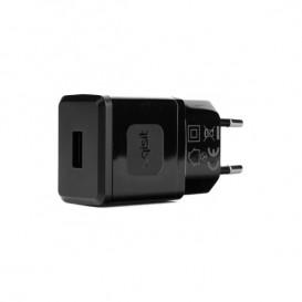 Adaptador corriente / USB Negro