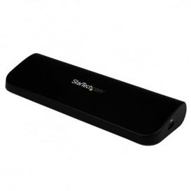 Estación de Conexión Docking Station Universal para Laptop USB 3.0 Audio Red DVI HDMI VGA Vídeo Doble