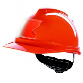 Casco MSA V-Gard 500 - Rojo