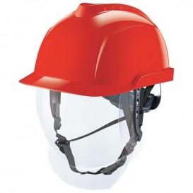 Casco MSA V-Gard 950 - Sin ventilación, con pantalla facial