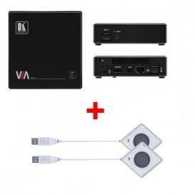 Kramer VIA Go + Botón USB Kramer VIA Pad