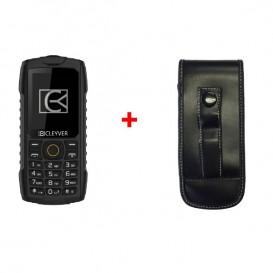 Cleyver XDIVE con funda resistente para teléfonos DECT