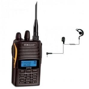 Midland CT 710 Dual Band VHF/UHF + Auricular gancho