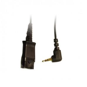 Cable QD Plantronics con Jack 2.5
