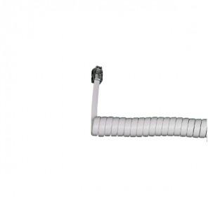 Cordón de auricular blanco