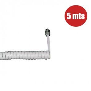 Cordón de auricular (5 metros) - Blanco