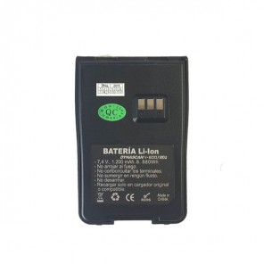 Batería 1600 mAh para Dynascan -R58/DA350, V600, R121U