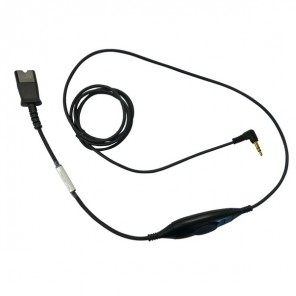 Cable OD QD Jack 3.5mm para Alcatel IP Touch