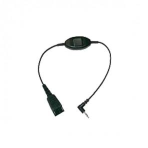 Cable GN Jabra jack 3,5 para Alcatel
